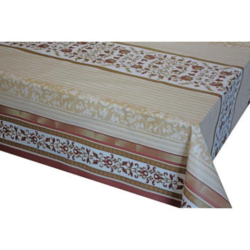 Pvc Printed fitted table covers Table Runner 4