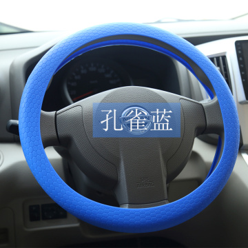 Cute silicone rubber steering wheel cover for trucks