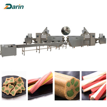 Nutritional Pet Treats Snacks Food Extruder Machine