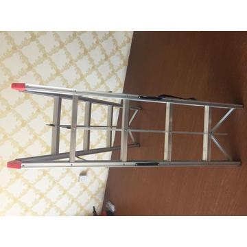 Double side stick step ladder