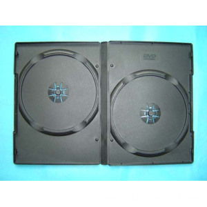 DVD case dvd box dvd cover 14mm double black (YP-D802H)