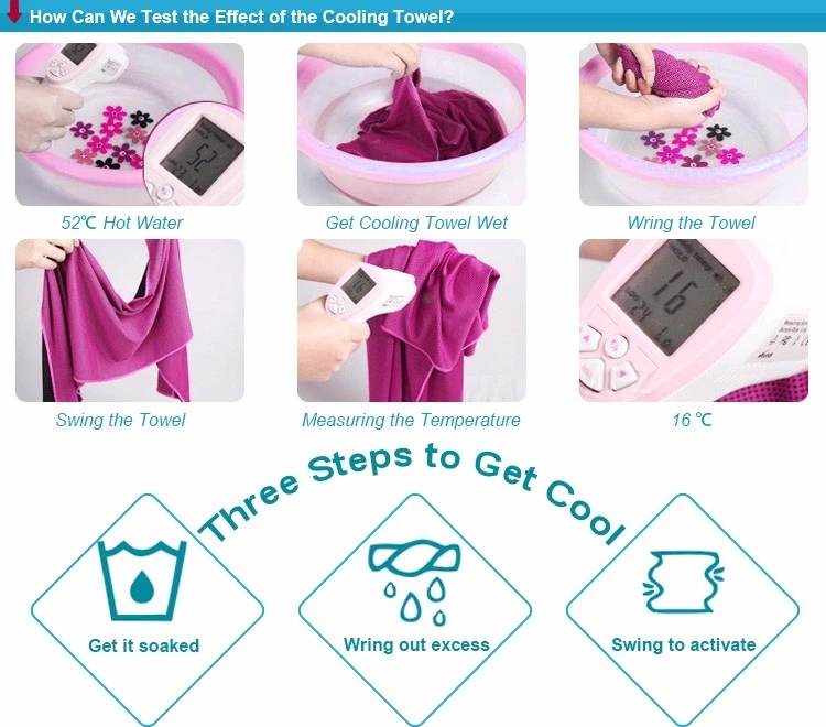Cooling Towel Using