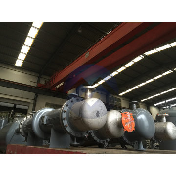 Tubular heat exchangers are used in chemical industry