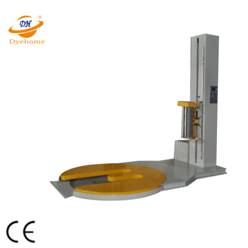 M Type Turntable Pre-Stretch Pallet Wrapper