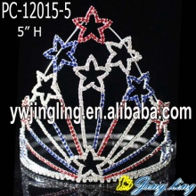 2018 Star Tall High Hair Crown Tiara