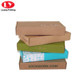 Self Folding Corrugated Paper box for Clothing Packing