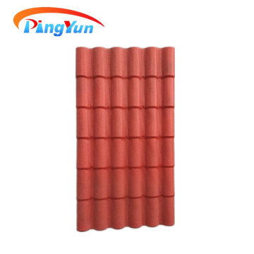 Roma Corrosion resistance ASA synthetic resin roof tile