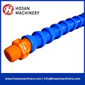 Plastic coolant hose cooling pipe