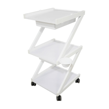 3-Shelf Utility Manicure Trolley