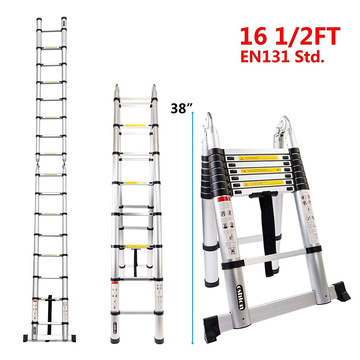 3.8M  double side telescopic ladder