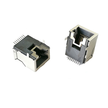 RJ45 Entuk Side PCB Jack Grounding TAB