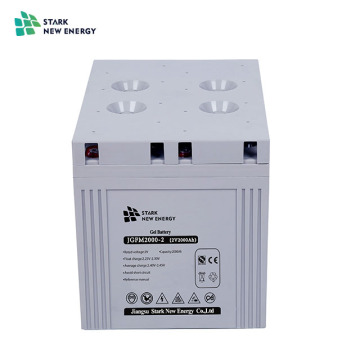 2V2500Ah Solar Gel Battery