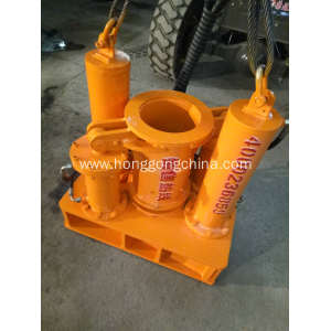 Highway Guardrail Pile Extractor