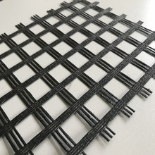 100/100KN Fiberglass Geogrid For Soil Stabilization