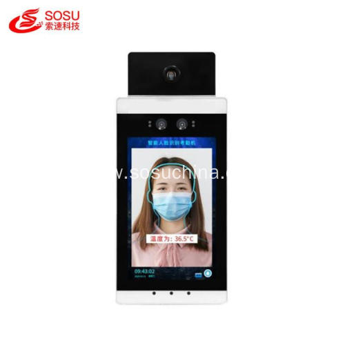 8 inch Temperature Measurement and Face Recognition machine