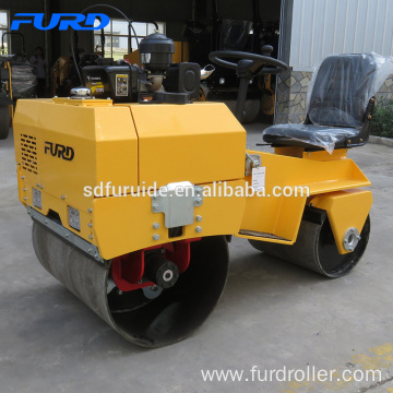 New Design 700kg Mini Road Roller Compactor For Sale Mini Construction Machine Soil Compactor Vibratory Road Roller FYL-855