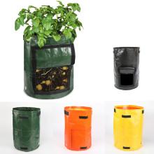 Color Potato Cultivation Planting Woven Fabric Bags Garden Pots Planters Vegetable Planting Bags Grow Bag Farm Home Garden Tool