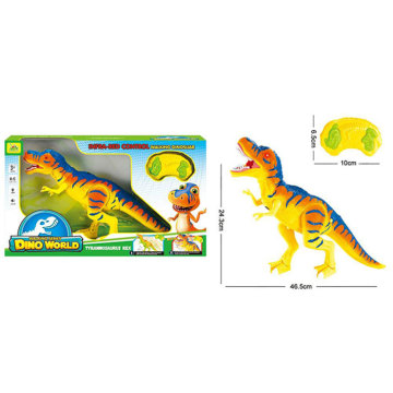 DINOSAUR ISLAND TOYS INFRARED R/C DINOSAUR , WITH SOUND AND LIGHT