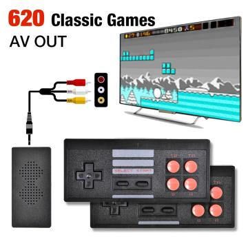 Video Game Console Retro Convenient Wirless Games Controller With Built In 628 Classic Games Simple Game Machine For MICRO USB