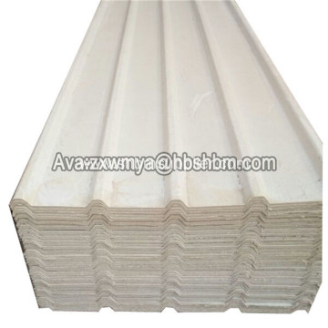 MGO Glazed Anti-corrosion Heatproof Fireproof Roofing Sheets