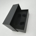 Black Wireless Headset Paper Lid Off Box