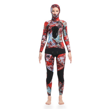 Seaskin Long Leg 2-Pieces Spearfishing Wetsuits
