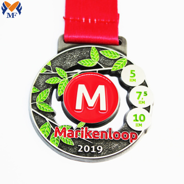 Custom best sport race running medals
