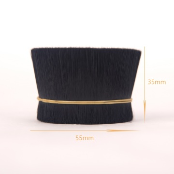 soft PBT synthetic tapered filament for eyelashes extension