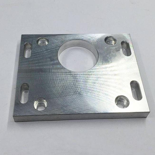 cross hole machining