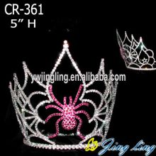 Rhinestone Custom Spider Halloween Pageant Crowns
