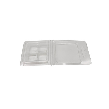 Double wax melt clamshell plastic blister package