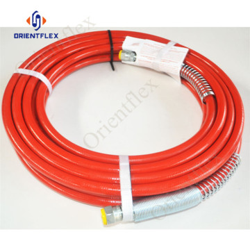 high pressure spray paint machine hose 22.7Mpa