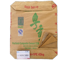 4+1 Plastic Liner Kraft Paper Cement Bag