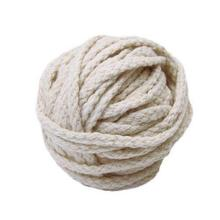 4mm 6mm factory outlet braided natural cotton rope