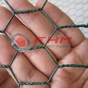 Anping Hexagonal Wire Mesh Green and Black