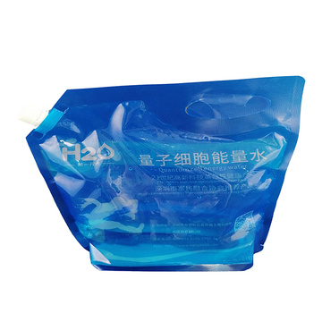 Food packaging plastic fruit wine packaging-bag with handle