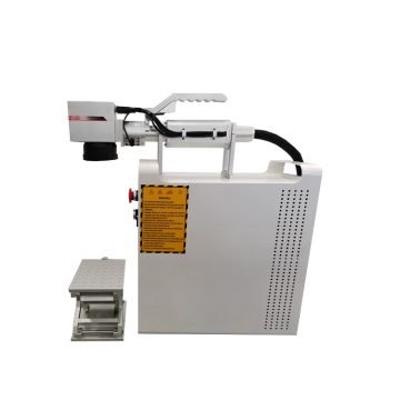 High precision 30w portable CNC Metal QR code Laser printing Machine