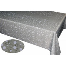 PU coating printed fabric Tablecloth