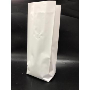 Side Gusset Coffee Pouch Bag with Valve