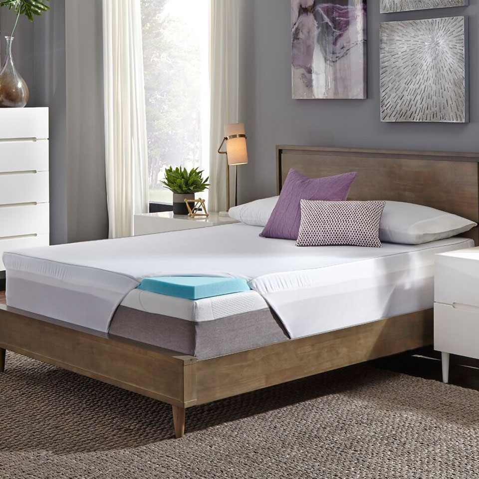Memory Foam Mattress Topper Twinxl