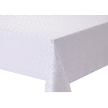 Solid Embossed Fabric Tablecloth for Sale