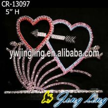 Wholesale Valentine'S Day Rhinestone Pageant Crowns