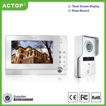 Access Memory Video Door Phone Intercom System