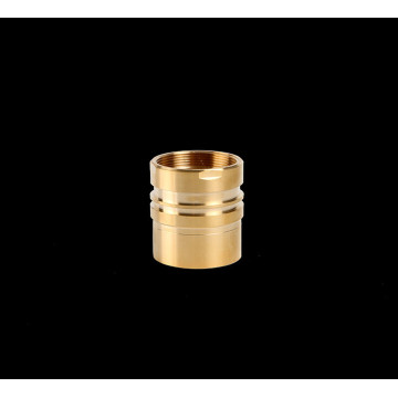 Brass Faucet Valve Housing by CNC