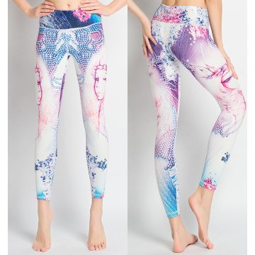 Custom sublimation fitness leggings ladies leggins sport