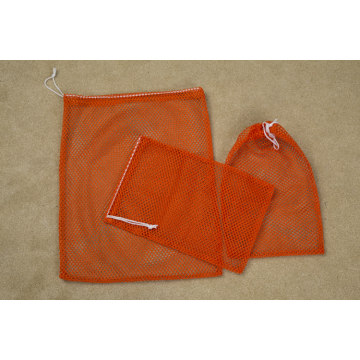 Mesh Laundry Bags with Drawstring Travel Family