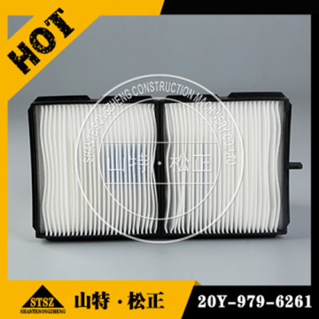 air conditioner filter 20Y-979-6261 for PC200-7 excavator