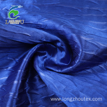 Back Crepe Satin PD Crumpled Fabric
