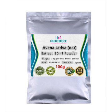 100-1000g Pure Avena sativa extract 20:1 powder,oat,oats,oatmeal, hot cereals extract with Beta glucan and flavonoids