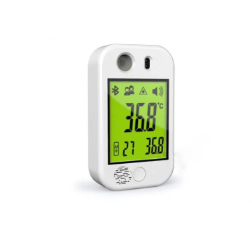 Handsfree Wall Mounted LCD Display Thermometer